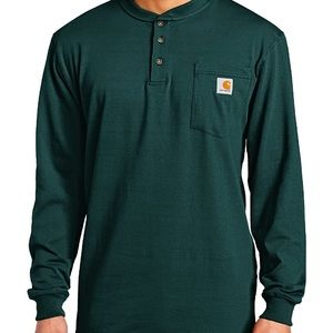 Carthartt original fit long sleeve Henley
